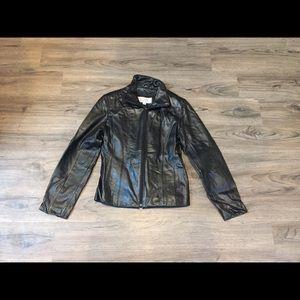 Genuine Wilson leather women's jacket
